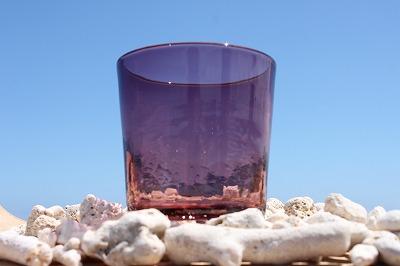 琉球ガラス 紫