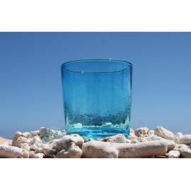 琉球ガラス 水色