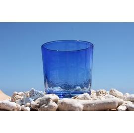琉球ガラス 青