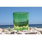 琉球ガラス 緑